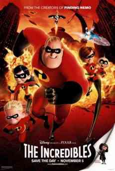 Суперсемейка / Incredibles, The (2004)